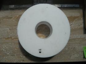 Teflon PTFE Tarflen Pierścień 150 x 49 x 51 mm
