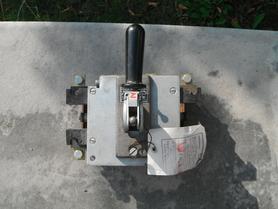 Odłącznik OZ 4x100 4 biegowy 100A