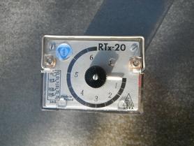 RTx-20 Przekaźnik czasowy 220V 50Hz 0-6 sekund