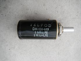 Potencjometr Helipot DM-102-655 Telpod 1kOhm 1W