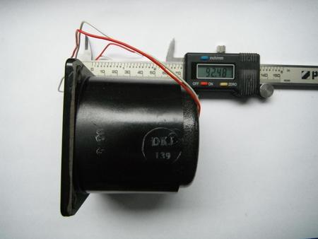 Licznik czasu pracy LGS 220V 50Hz Pafal  (2)