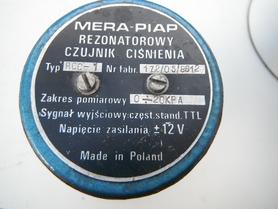 Rezonatorowy czujnik ciśnienia RCC-1 Mera Piap 0-20 KPa