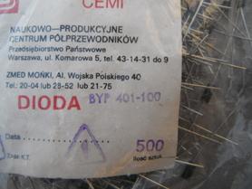 Dioda BYP 401-100 Unitra Cemi 1A 100V