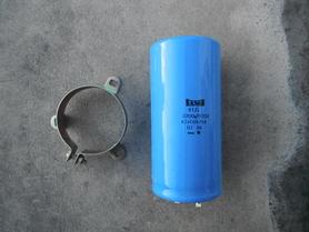 Kondensator 2200uF 100V Elwa 61/L + obejma