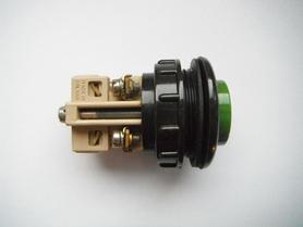 Przycisk N1-1WP zielony / czerwony 2,5A 500V tablicowy