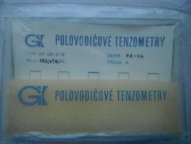 Półprzewodnikowy tensjometr AP120-6-12/BP czujnik deformacji