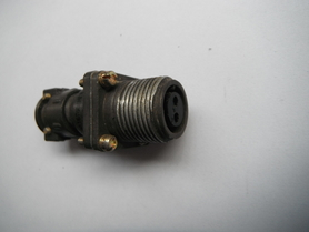 SzR16PK2NG5 Uchwyt kablowy prosty 2 ginazdka