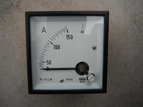 Amperomierz 150A (300A) Lumel E17N miernik tablicowy