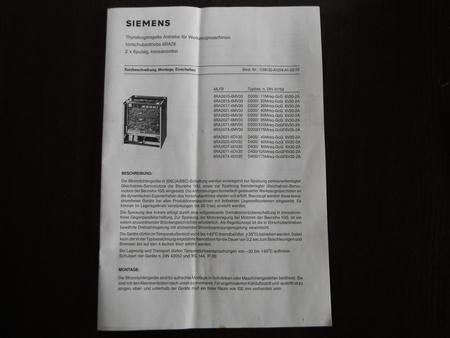 Simoreg D400/60Mreq-GcG6V30-2A SIEMEMS Nowy (5)