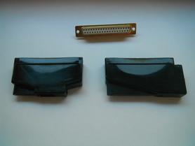 Obudowa osłona do złącz DB 37 na kabel kątowa i prosta