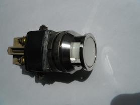 Przycisk sterowniczy biały podświetlany 2,5A 500V