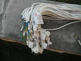 Przewód SPZ-50 przyłączeniowy jednostronny 2P+Z 10-16A 250V