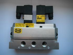 Zawór DTE 5/2 G3/8 sterowany dwustronnie elektrycznie 24VDC