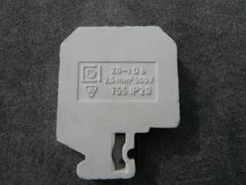 Złączka zaciskowa gwintowana ZG-1Db 2,5mm2 500V T55 IP20