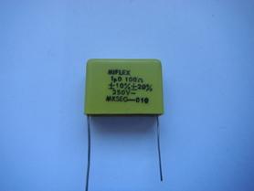 MKSEG-010 Kondensator gasikowy 1uF 250V 100Ohm gasik
