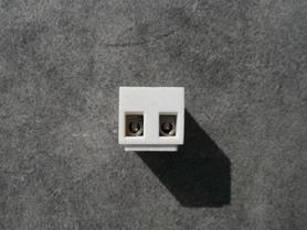 Listwa zaciskowa gwintowa termoutwardzalna 4mm2, 2 tory