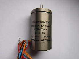 LTSa 11C Mikroma 12/6V 2500Hz transformator resolwer selsin selsyn