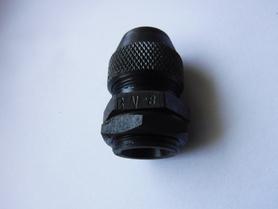 Dławnica kablowa metalowa przepust fi 8 mm typ BN-8 stalowa