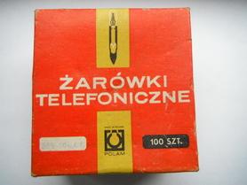 Żarówka telefoniczna T-6,8 48V 50mA