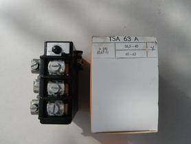 TSA 63A Przekaźnik termiczny termik zakres 26,5-40A