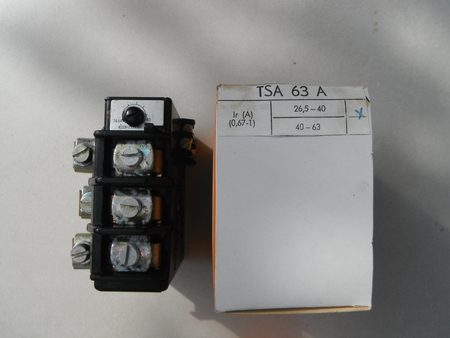 TSA 63A Przekaźnik termiczny termik zakres 26,5-40A (1)