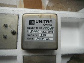 TCXO-5B Generator kwarcowy 5000 MHz Unitra