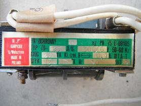Transformator ochronny TO-25 380/6V 25VA