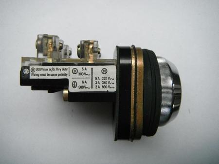 Przycisk sterowniczy tablicowy XB2-MA41 czerwony  (2)