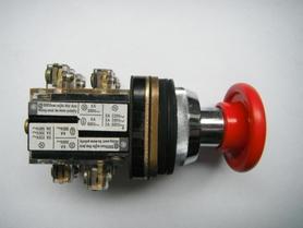 Przycisk grzybek sterowniczy tablicowy XB2.MC42 czerwony