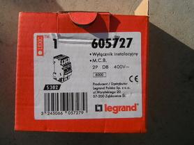 S302 D 8A Legrand wyłącznik instalacyjny 605727