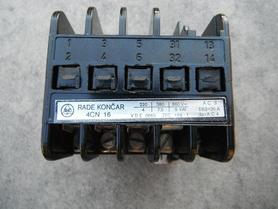 Stycznik 4CN16 220V 50Hz 30A 4cn 16