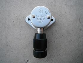 SzR-51 gniazdo + SzW-51 wtyczka
