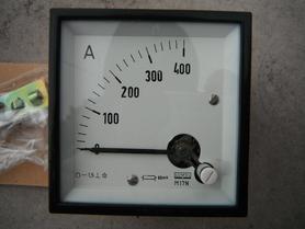 Amperomierz analogowy 400A Lumel M17N miernik tablicowy