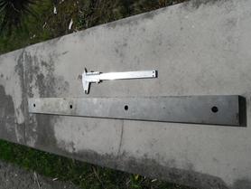 Noże nóż do gilotyny 688 x 53 x 14 mm 280/41 Baildon 1636