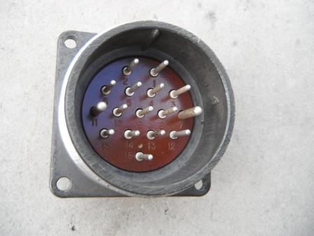 SzR40P16ESz2 Uchwyt agregatowy złącze gniazdo wtyk 16 pin (1)
