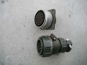 Uchwyt SzR32P14EG5 + Wtyczka SzR32P14NG5 14 pinów gniazdo złącze