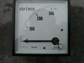 Obrotomierz M19NP-TZT2 Lumel do prądniczki TP2A 300 obr/min