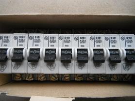 Wyłącznik instalacyjny typu S różne typy S161 S162 S163 Fael