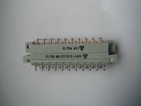 Złącze 21 pin Eltra 851 Nowe 8610210121l000 złocone wtyk