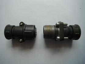 SzR20P4ESz8 + SzRG20PK4ESz8 złącze 4 pinowe 25A 600VAC/DC